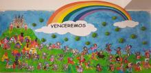 Mural de Infantil - 4 años